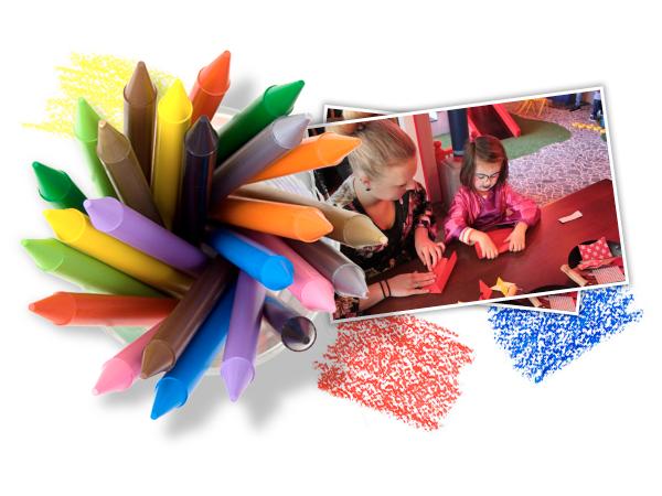 Creatief doen in KidsPlaza